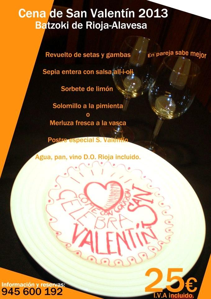 San Valentín Batzoki Rioja Alavesa